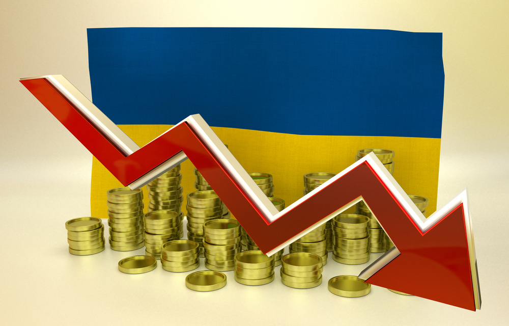 currency collapse – Ukrainian hryvnia